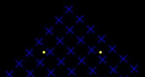 Patrz się na zieloną kropkę, a żółte znikną