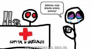 Polska służba zdrowia...