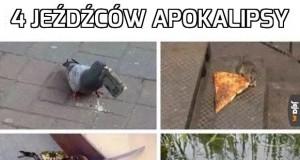 4 jeźdźców apokalipsy