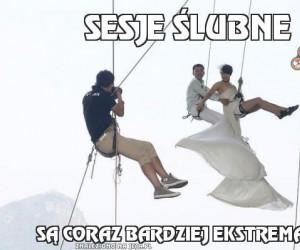 Sesje ślubne