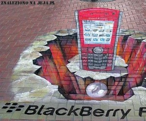 Reklama Blackberry
