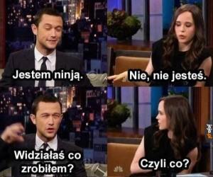 Ninja tak mają