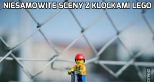 Niesamowite sceny z klockami lego