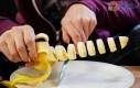 Krojenie banana w stylu ninja