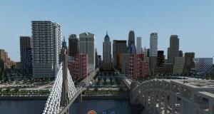Metropolia w Minecraftcie