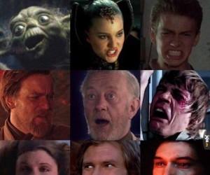 Gwiezdne Wojny zatrzymane w dziwnych momentach