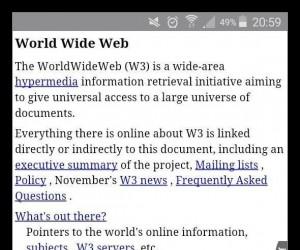 Tak wygląda pierwsza strona internetowa na świecie