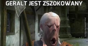 Geralt jest zszokowany