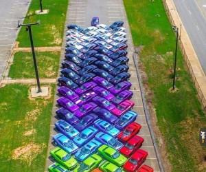Posortowane samochody