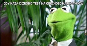 Gdy każą Ci zrobić test na obecność narkotyków