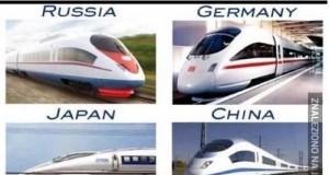 Jak wyglądają pociągi w innych krajach