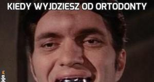 Kiedy wyjdziesz od ortodonty