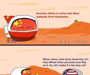 Kto pierwszy na Marsie?
