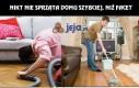 Nikt nie sprząta domu szybciej niż facet