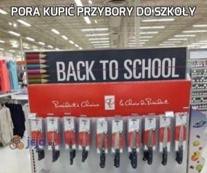 Pora kupić przybory do szkoły