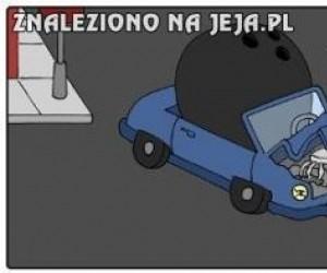 Nietypowy wypadek