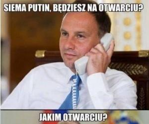 Śmieszki prezydenta