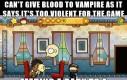 Krew nie, kanibalizm tak
