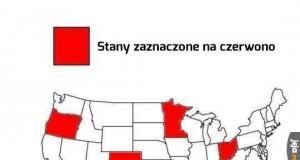 Ważna mapa stanów