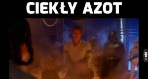 Ciekły azot vs Han solo