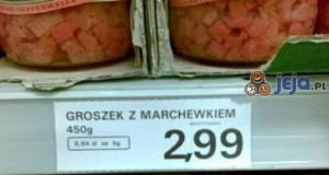 Groszek z marchewkiem