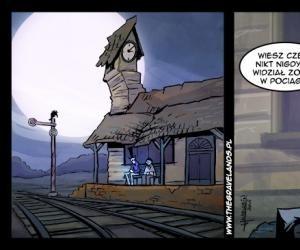 Czemu nikt nie widział zombie w pociągu?