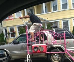 Ale słodki rower, brachu!