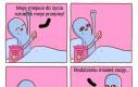 Kosmici poznają okruszki w łóżku