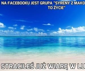 """Na Facebooku jest grupa """"Syreny z Mako to nie serial. To życie"""""""