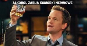 Alkohol i komórki nerwowe