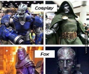 Cosplay vs produkcja filmowa...
