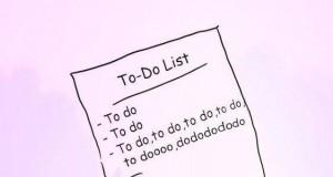 Lista to do...