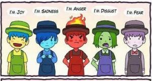 Mamy więcej niż 5 emocji...