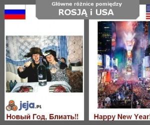 Rosja vs USA - Sylwester