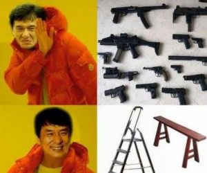 Czym walczy Jackie Chan