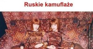 Ruskie kamuflaże