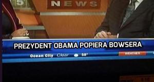 Obama popiera Bowsera