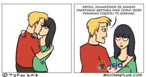 Nie ufaj dziewczynom, które mają grzywki!