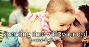 Spędzanie czasu z tatą
