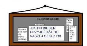 Reakcje na przyjazd Biebera