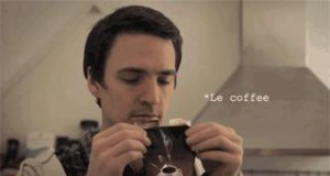 Ten zapach kawy...