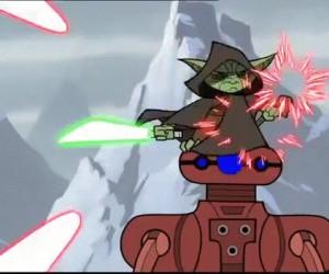 Nie denerwuj Yody!