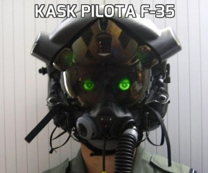 Kask pilota F-35