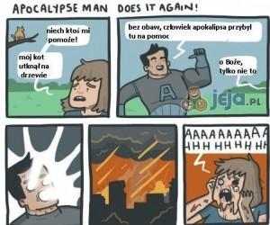 Człowiek Apokalipsa na ratunek!
