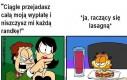 Garfield idealnie odwzorowuje tego mema