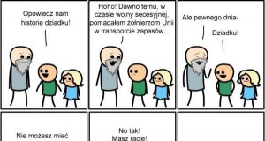 Opowiedz mi historię dziadku!