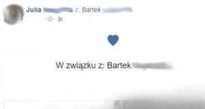 Facebookowe związki
