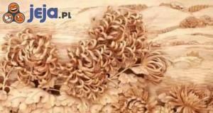 Niesamowite dekoracje z drewna