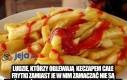Frytki + ketchup