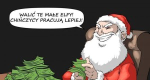 Mikołaj zmienił fabrykę